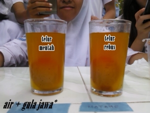 air + gula jawa